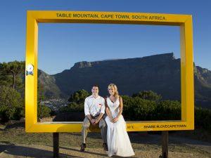 Honeymoon photo shoot in Cape Town, 2015