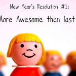 5 (more) achievable New Years' Resolutions